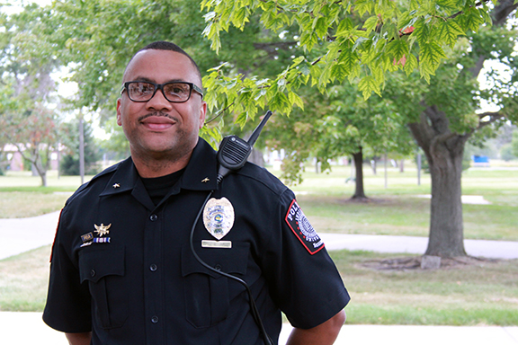 IU Police Department-Northwest chief appointed to new IUPD chief diversity officer position
