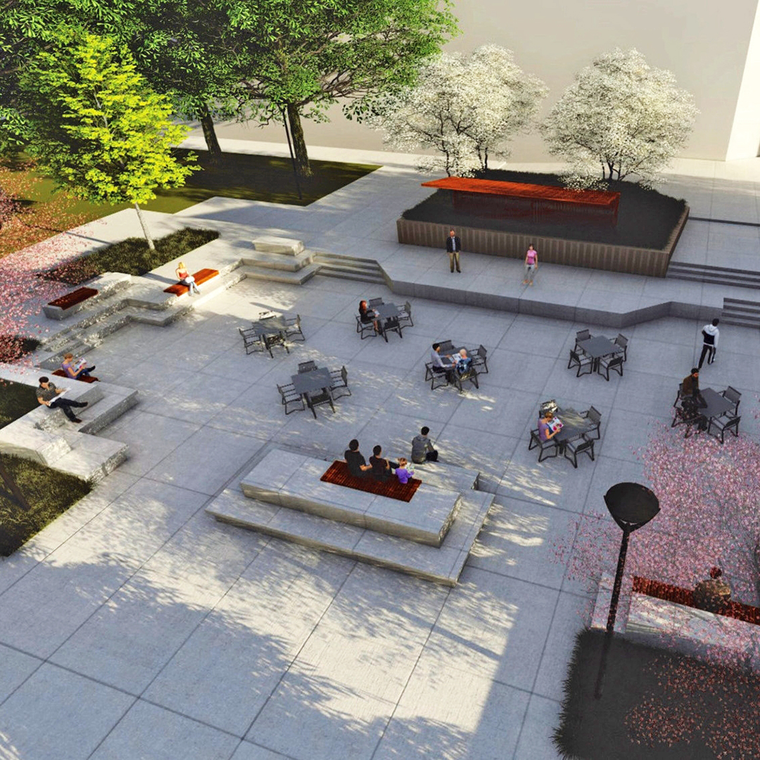 IU Northwest to renovate Anderson Library Plaza
