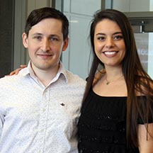 Celebrating the Class of 2019: Matt Paskash and Paulina Ugalde